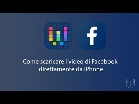 Come scaricare video da Facebook su iPhone con Workflow / How to download Facebook Videos on iPhone