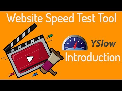 Website Speed Test Tool - Yslow Introduction.