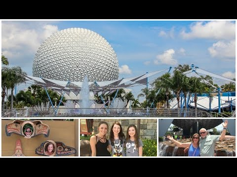 Epcot Day and Meeting Friends for Dinner at Biergarten