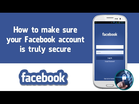 How to make a Facebook account more secure.
