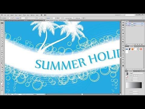 How to create custom Bubbles Brushes in - Adobe Illustrator Tutorial