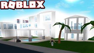 Modern Mansion Beginner Modern House Roblox Bloxburg Houses Roblox Bloxburg Subscriber Tour Axtrectius