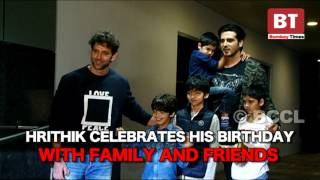 Hrithik Roshan celebrates his birthday with family and friends
