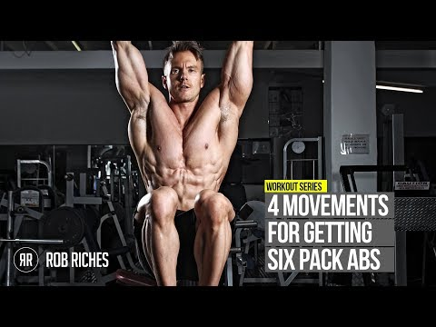 4 Movements for CUT Six Pack Abs