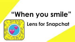 you so fuckin precious when you smile snapchat filter