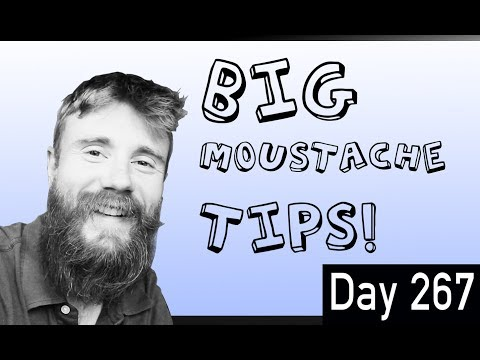 WANT a BIG BEARD? You'll Need a BIG Moustache  Tips & Advice for Dealing with a 'Stache