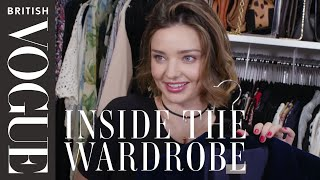 Miranda Kerr: Inside the Wardrobe   British Vogue