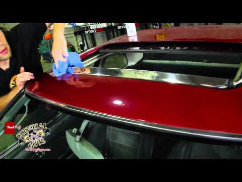 How To Restore Chrome & Stainless Steel - Chemical Guys Car Care EPIC SHINE Honda Prelude