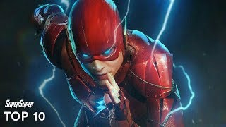 Top 10 Fastest Superheroes and Teleporters | SuperSuper