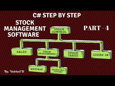 C# Step By Step Make Stock Management Software Part 4 ( Validation & Config )