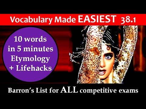vocabulary made easiest 38.1 learn etymology by puneet biseria in hindi