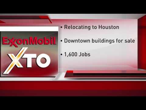 XTO Energy to move jobs to Houston
