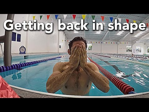 How to get back in swimming shape