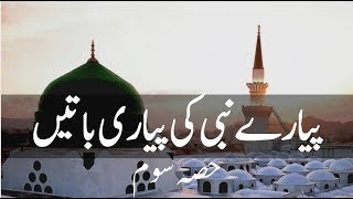 Hazrat Muhammad (s.a.w) Quotes Collection In Urdu Part 3