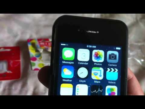 Testing RSIM Air card out of the box on Verizon Iphone 4s 7.1.2 with T-mobile sim.  DOESN'T WORK