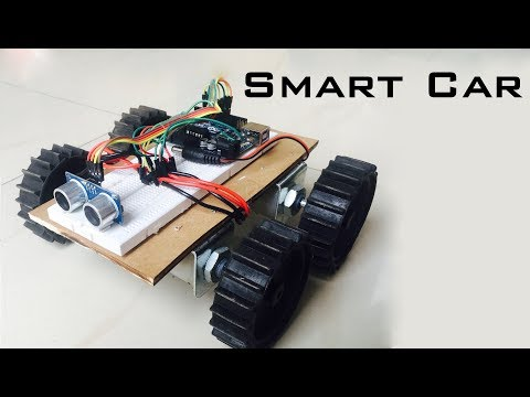 How to Make a Smart Car | Obstacle Avoiding Car | Indian LifeHacker
