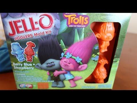 Trolls Jello Jigglers Mold Kit!