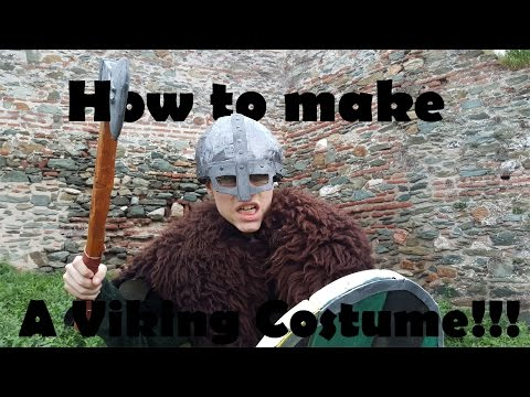 How to make a VIKING COSTUME
