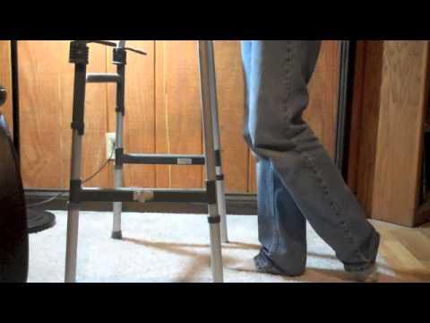 Standing Heel Slides