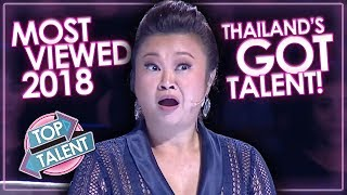 Download MOST VIEWED Auditions & Performances Thailand's Got Talent 2018! Top Talent Video