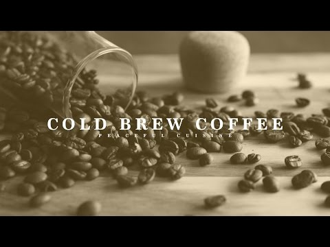 [No Music] How to Make Cold Brew Coffee