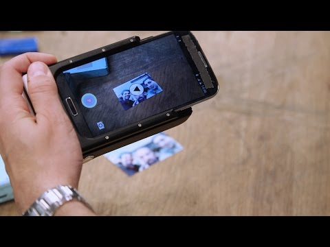 Printing Photo-Video Hybrids from Your Smart Phone