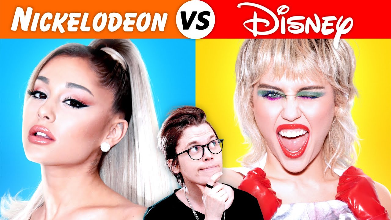 Disney Singers vs Nickelodeon Singers