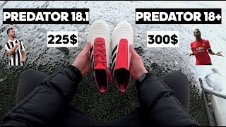 c87ead29c Adidas Predator 18.1 vs Predator 18+ | Стоит ли переплачивать ? Бутсы как у  Погба