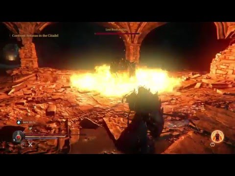 Lords of the Fallen (PS4) - The Lost Brothers Boss Fight