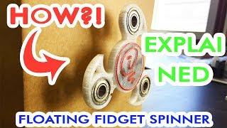 Download EXPLAINED Floating fidget spinner Video