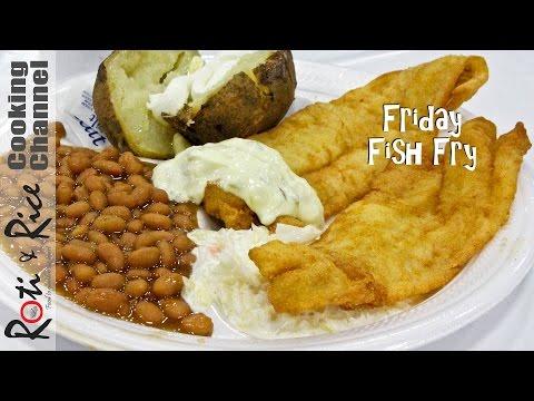 Friday Fish Fry | Roti n Rice