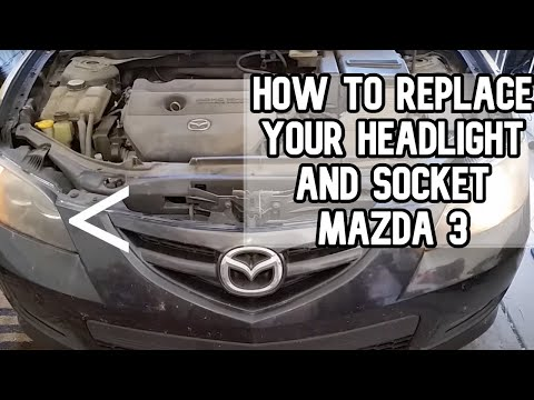 How to replace your headlight and socket DIY video | #diy #headlight
