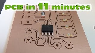 PCB making, PCB prototyping quickly and easy - STEP by STEP