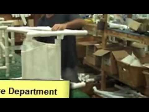 Factory Tour: Patio Cushions and PVC Pipe Patio Furniture