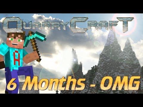 Minecraft   A Survival SMP Server Tour   QuarryCraft Server After 6 months: OMG the Progress
