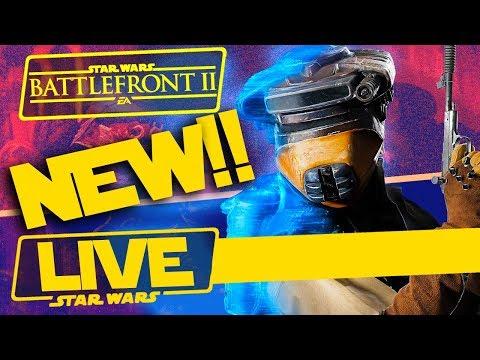 Leia Boushh and Lando Skiff + Jabba's Palace Map NEW UPDATE!! - Star Wars Battlefront II
