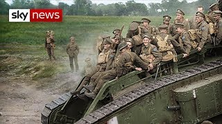 WW1 brought to life in colour