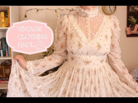 Vintage Clothing Haul! 💫