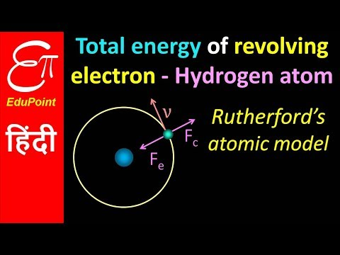 Energy of any Electron in Hydrogen Atom | in HINDI