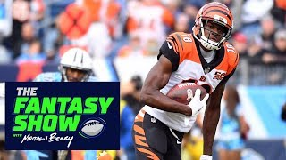 A.J. Green and DeAndre Hopkins could have tough matchups in Week 12 | The Fantasy Show | ESPN