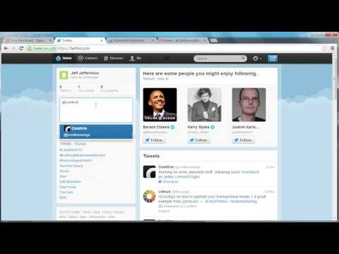 Send email when mentioned on Twitter