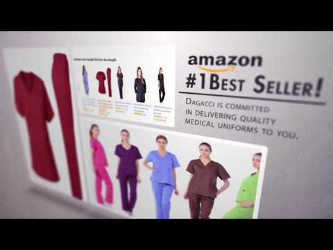 nursing scrubs medical uniform dagacci