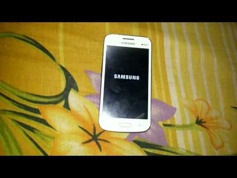 Samsung Galaxy Star Advance G350E hard reset