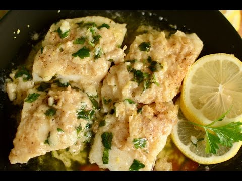 Fish in Lemon Butter Sauce   रेस्टॉरेंट की तरह  टेस्टी फिश को घर पर बनाये   Seafood Recipe