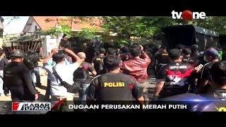 Detik-Detik Polisi Gerebek Asrama Mahasiswa Papua, Cari Pelaku Perusakan Merah Putih