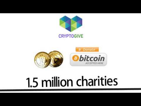 Donate Bitcoin to Charity with CryptoGive