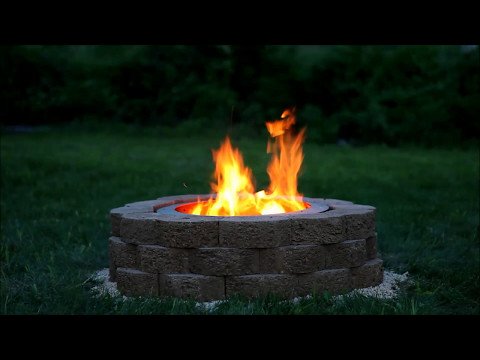How to Build The World's Cutest Fire Pit