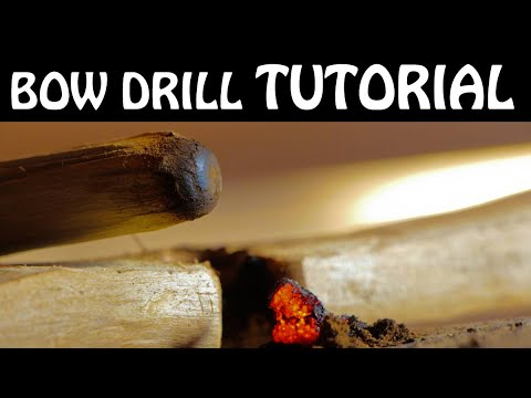 How To Make A Primitive Fire