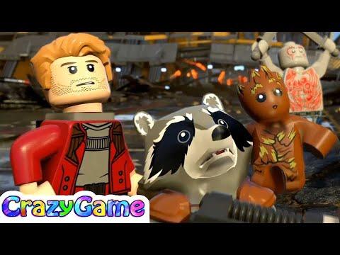 LEGO Marvel Super Heroes 2 100% Walkthrough #1 No Eson of Mine (Minikit, Stan Lee, Moon Knight)