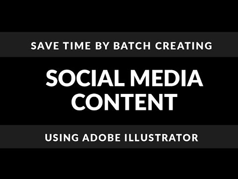 How to Create Social Media Images in Adobe Illustrator